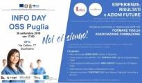 FORMAZIONE OSS/  Le Reti Formare Puglia e Formazione presentano l'esperienze dei Corsi finanziati dalla Regione Puglia