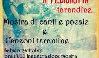 Spettacoli/ISTAVE 'NA VOTE 'A PIEDIGROTTA TARANDINE … musica e mostra di una Taranto che non c'è più.