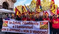 ILVA - I lavoratori USB vogliono un'azione comune tra Governo, Regione e Comune. Nessuno sconto su salute e lavoro