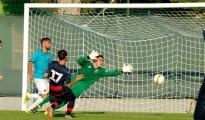 """CALCIO - Taranto, termina con un 6 a 0 contro il Cannara il ritiro in Umbria dei rossoblu. Mister Cozza: """"A tratti espresso un gioco divertente, c'è ancora da migliorare"""""""