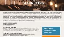 Formazione/ Aperte le iscrizioni allo Short Master in Luxury Fashion Marketing.
