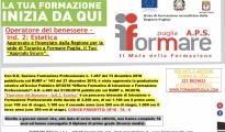 """Formazione/ Corso per """"Operatore del Benessere - Ind. 2 Estetica"""". In programma a Taranto."""