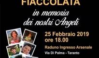 Taranto/ Fiaccolata per celebrare il piccolo Giorgio Di Ponzio, il giovanissimo Tarantino scomparso per un male incurabile. Appuntamento il 25 febbraio.