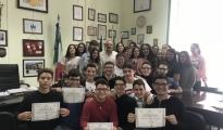 """SCUOLA/ Il Liceo """"Aristosseno"""" al primo posto nella Competizione interregionale """"Matematica Senza Frontiere"""""""