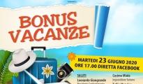 """FASE 3/ """"Bonus Vacanze"""", dal 1 luglio si può attivare, martedì diretta facebook di Confcommercio Taranto"""