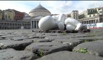 """ARTE/ """"Lookdown"""" la scultura di Jago sulla pandemia  dedicata a chi è stato dimenticato"""