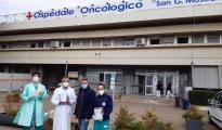 CORONAVIRUS/L'ospitalità si trasforma in solidarietà: succede allo  Sprar di Taranto che dona 120 visiere al personale medico e infermieristico del Moscati