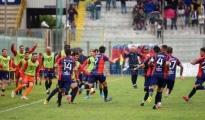"""CALCIO/ Taranto batte Palermo, mister Laterza """"grande partita, pubblico fantastico"""""""
