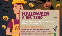BRINDISI/ Con Coldiretti e il Mercato di Campagna Amica, venerdì e sabato un Halloween a Km 0