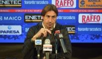 """CALCIO/ Taranto-Francavilla in Sinni 2-1. Mister Panarelli: """"Abbiamo disputato un'ottima gara, complimenti ai ragazzi"""""""