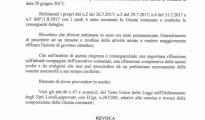 IL SINDACO DI TARANTO MELUCCI AZZERA LA GIUNTA.
