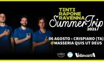 ESTATE TARANTINA/ Ravenna, Rapone e Tinti per il gran finale della rassegna Please Stand Up a Crispiano