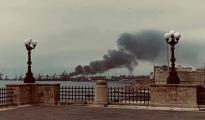 EMISSIONI NOCIVE/ Incendio della gru al porto di Taranto, in corso gli accertamenti di Arpa Puglia