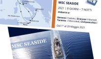 """TURISMO/ MSC Crociere inaugura approdo a Taranto con possibilità di imbarco, a maggio arriva """"MSC Seaside"""""""